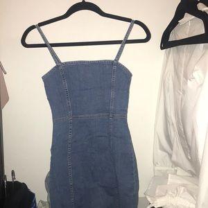 Hm denim mini dress